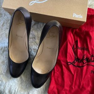 Christian Louboutin New Simple 120 size 39 Bronze